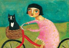 Bike Girl Mini