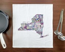 Doodle: New York Towel
