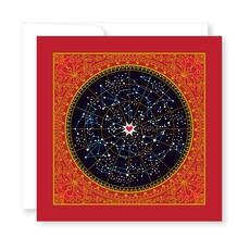 Square Star Map Valentines