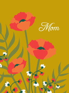 Poppies Gold Mom