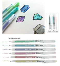 Gellyroll Stardust Gel Pens - Set of 6