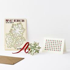 Winter Snowflake Pop Out Card