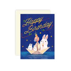 Bunny Boat Birthday