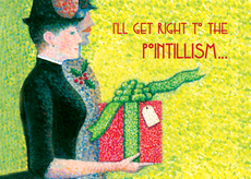 Pointillism Holiday
