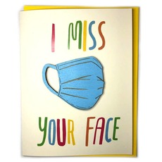 Miss Your Face Magnet Card