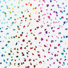 Rainbow Flake Tissue Paper
