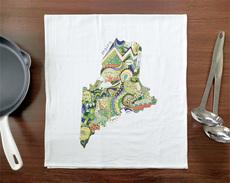Doodle: Maine Towel