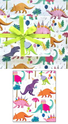 Dinosaur Party Wrap