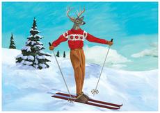 Deer Skier