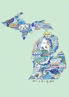 Doodle: Michigan