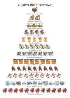 Portland Christmas 12-Days