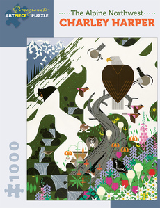 Charley Harper - Alpine Northwest Puzzle - 1000pc