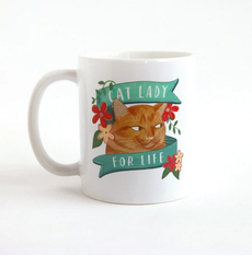 Cat Lady for Life Mug