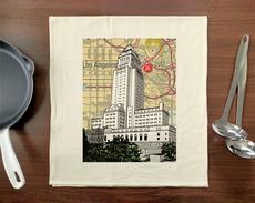 LA City Hall Towel