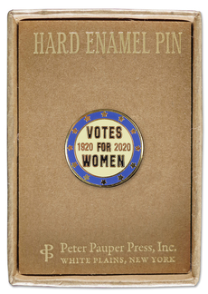 Votes For Women Centennial Pin