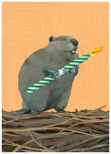 Birthday Beaver
