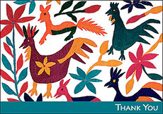 Otomi Thank You Boxed Notes