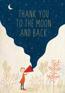 Thanks to the Moon