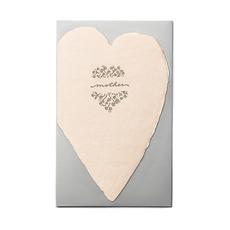 Mother Blush Heart Card