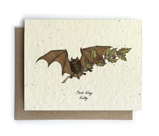 Bat Plantable Seed Card