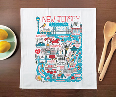 Statescapes: New Jersey Towel