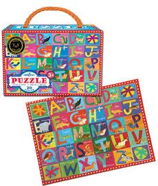 Kids Animal Alphabet Puzzle - 20pc