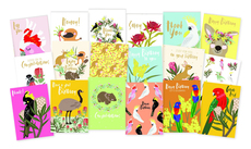 Australiana Wildlife Card Set
