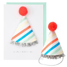 Birthday Hat Pop Up Card