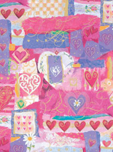 Heart Collage Wrap