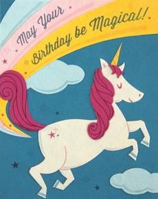 Unicorn Birthday Collage Card