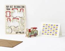 Train Pop Out Card