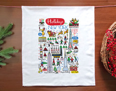 Holidays in NYC Towel
