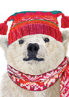Polar Bear in Hat
