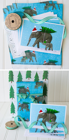 Elephant Tree Complete Wrap Kit