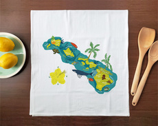 Hello: Hawaii Towel