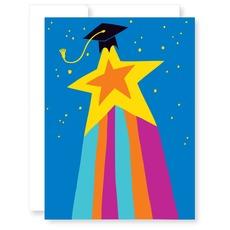 Shooting Star Graduation Card