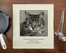 Cat Ancestors Towel