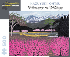 Flowers in Village Puzzle - 500pc