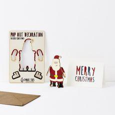 Santa Claus Pop Out Card