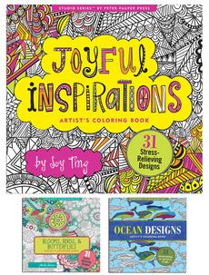 Joy Studio Series Coloring Books