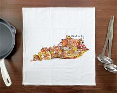 Doodle: Kentucky Towel