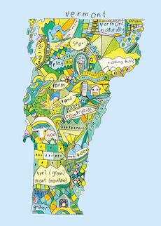 Doodle: Vermont