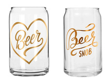 Cheeky Beer Glasses