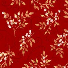 Holiday Floral Jumbo Gift Wrap