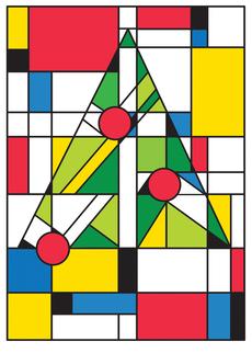 Mondrian Christmas