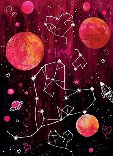 Heart Constellation Valentine's Card
