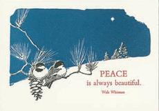 Whitman Peace Christmas Box