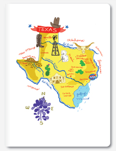 Hello: Texas Notebook
