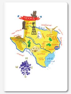 Hello: Texas Notebook