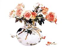Vercillas in Vase